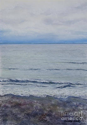 Art Print featuring the painting Manx Mist by Stanza Widen