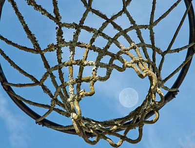 Many Baskets Made Many Moons Ago Art Print by Lena Wilhite
