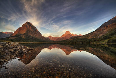 Glacier National Park Photograph - Many Glacier Zen by Mark Kiver