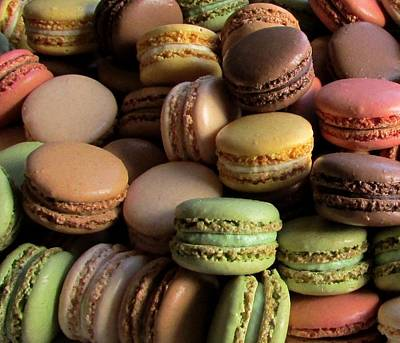 Many Mini Macarons Art Print by Brenda Pressnall