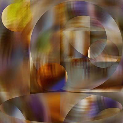 Digital Art - Many Moons by rd Erickson