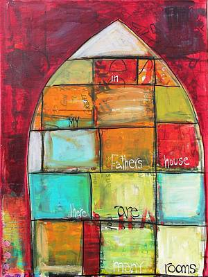 Mixed Media - Many Rooms by Carrie Todd