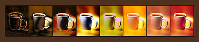 Espresso Painting - Many Shades Of Coffee by Bruce Nutting