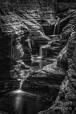 Watkins Glen New York Photograph - Many Tears by Todd Bielby