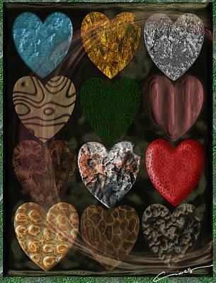 Many Types Of Love Art Print