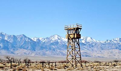 Photograph - Manzanar Tower by Marilyn Diaz