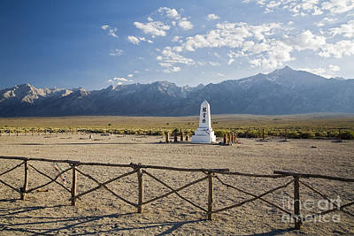 Photograph - Manzanar War Relocation Center by Jim West