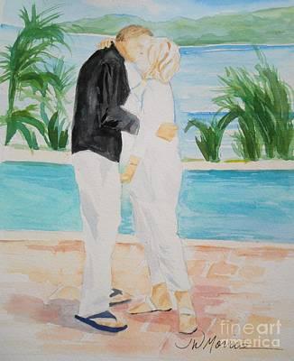 aeb9f24acd Wall Art - Painting - Manzinillo by Jill Morris