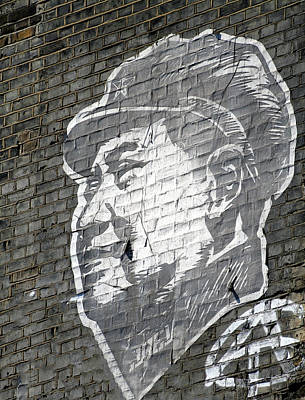 Famous Stencils Photograph - Mao by A Rey