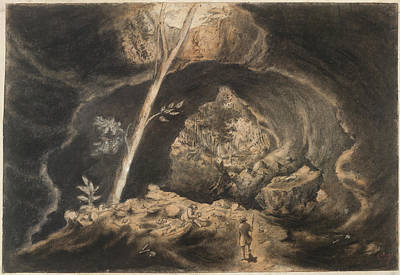 Land Feature Photograph - Maori Burial Cave by British Library