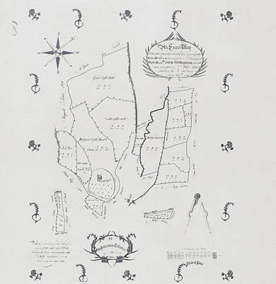 Map Of The Estate Art Print by British Library