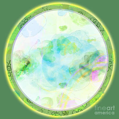 Digital Art - Map Plate by Gabrielle Schertz