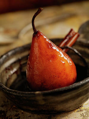 Photograph - Maple Glazed Poached Pear by Lauripatterson