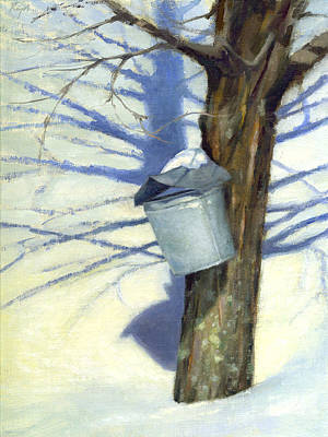 Painting - Maple Sugar Time by Neil Rizos