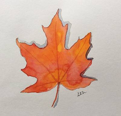 Painting - Maple by Suvitha Ramaswamy