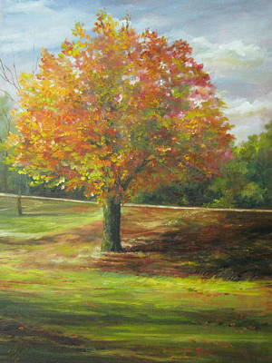 Painting - Maple Tree by Gloria Turner