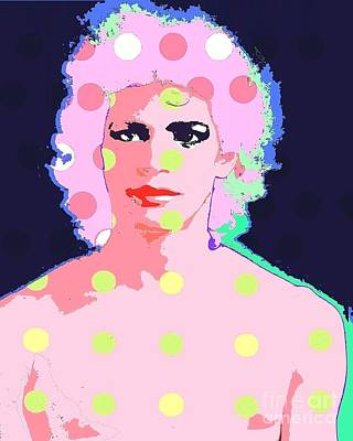Digital Art - Mapplethorpe by Ricky Sencion