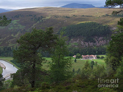 Photograph - Mar Lodge - Summer by Phil Banks