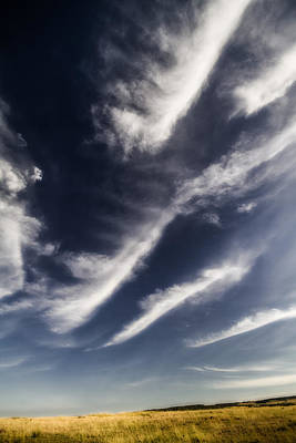 Photograph - Mara Whisp Clouds by Mike Gaudaur
