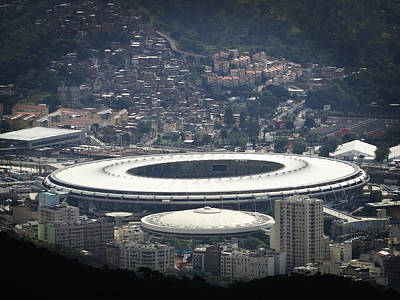 Photograph - Maracana by Zinvolle Art