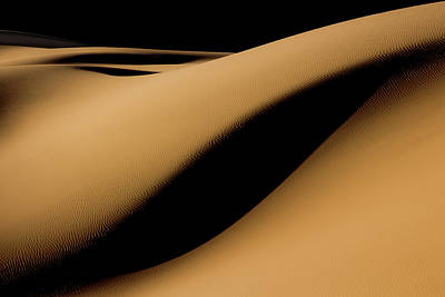 Sand Dunes Photograph - Maranjab Desert by Usef Bagheri