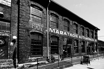 Photograph - Marathon Automobile Factory by Danny Hooks