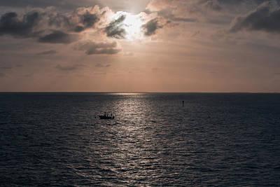 Tropical Photograph - Marathon Sunset by John M Bailey