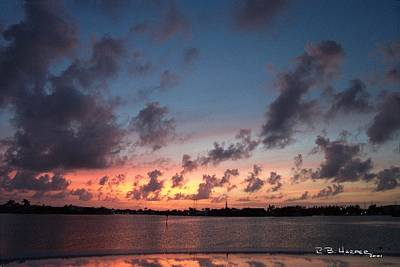 Photograph - Marathon Sunset by R B Harper