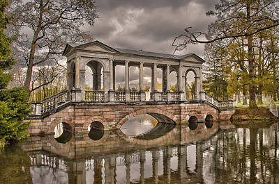 Photograph - Marble Bridge by Ludmila Nayvelt