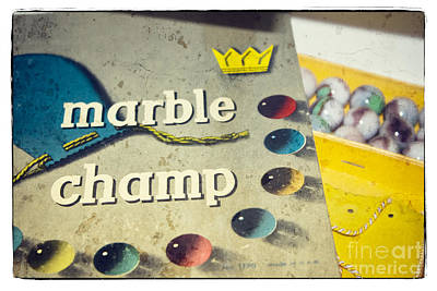 Photograph - Marble Champ by Colleen Kammerer