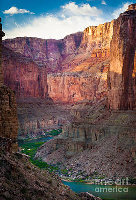 Grand Canyon Photograph - Marble Cliffs by Inge Johnsson