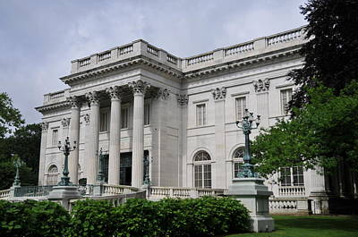 Marble House  --  Newport Rhode Island  Art Print