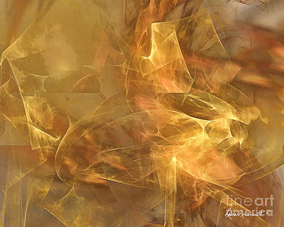 Digital Art - Marble by Leona Arsenault