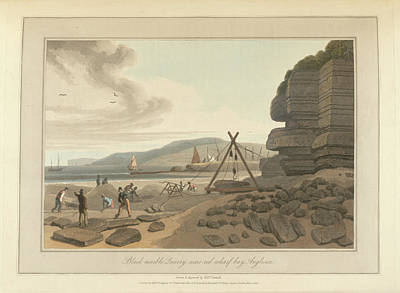 Cymru Photograph - Marble Quarry by British Library