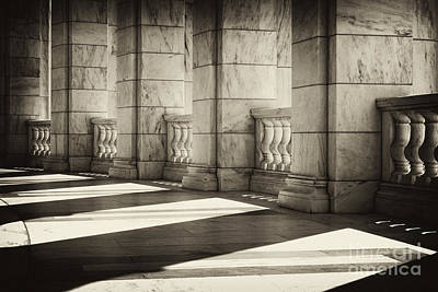 Photograph - Marble Shadows by Paul W Faust -  Impressions of Light