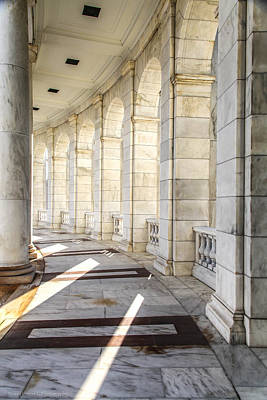 Art Print featuring the photograph Marble Sunlight And Silence by Ross Henton