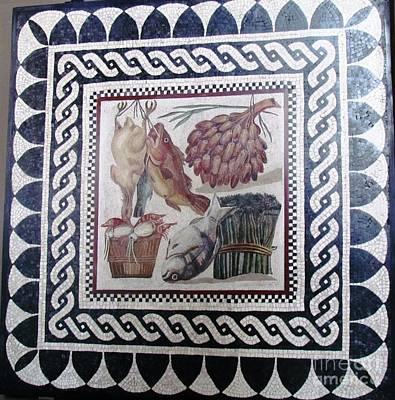 Marble Tile  Art Print
