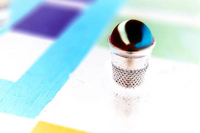 Photograph - Marble And The Thimble by Lesa Fine