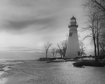 Photograph - Marblehead Bw by Jack R Perry