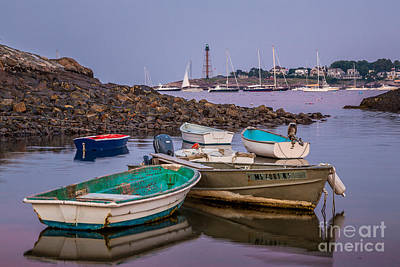 Photograph - Marblehead Dories by Susan Cole Kelly