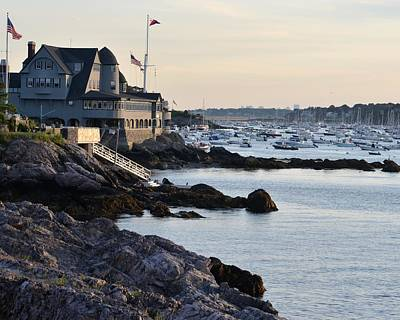 Photograph - Marblehead Harbor Chandler Hovey Park by Toby McGuire
