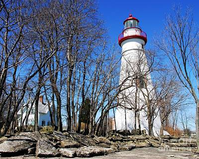 Photograph - Marblehead Light by Mel Steinhauer
