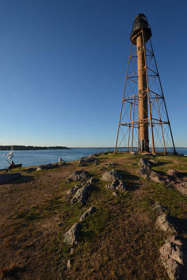 Photograph - Marblehead Light Tower Chandler Hovey Park by Toby McGuire