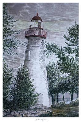 Marblehead Lighthouse Art Print by Frank Evans
