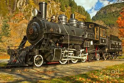 Photograph - Marblemount Train by Adam Jewell