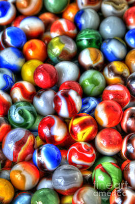 Photograph - Marbles 2 by Sarah Schroder