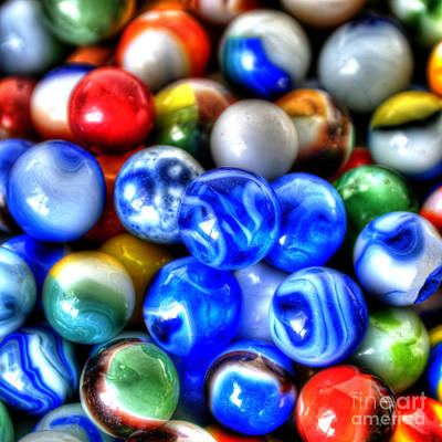 Photograph - Marbles 3 by Sarah Schroder
