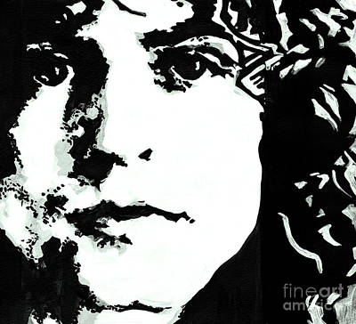 Marc Bolan Painting - Marc Bolan by Tanya Filichkin