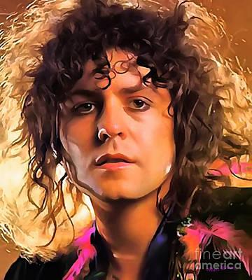 Marc Bolan Original by Sergey Lukashin