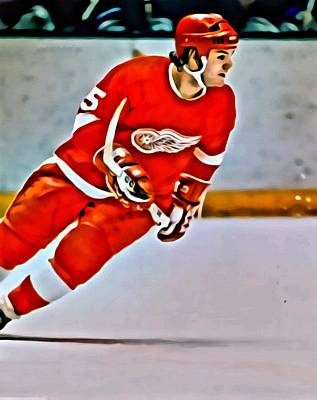 Painting - Marcel Dionne by Florian Rodarte